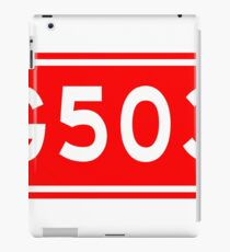 G503国道 | China National Highway Route Number Sign iPad Case/Skin