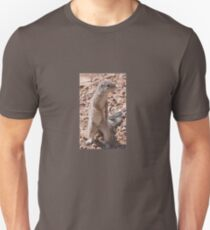 Cape Ground Squirrel, Fish River Canyon Namibia Africa Unisex T-Shirt