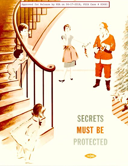 NSA Security Posters 1950s-60s 106 Secrets Must Be Protected von wetdryvac