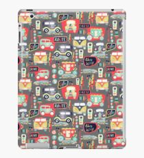 Travel Back in Time iPad Case/Skin