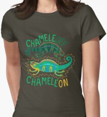 Chameleoff, Chameleon Womens Fitted T-Shirt