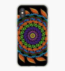Fire Mandala iPhone Case