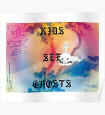 Kids See Ghosts Album Cover Poster
