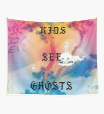 Kids See Ghosts Album Cover Wall Tapestry