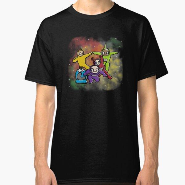 NEUF PRINCE Logo Classique Homme 80 S Vintage T-Shirt Noir