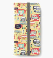 Travel Back in Time iPhone Wallet/Case/Skin