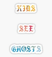 Kids See Ghosts Album Sticker