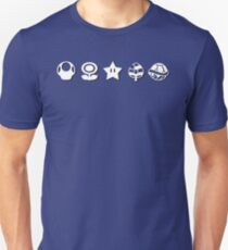 White mario items (with shadow) T-Shirt