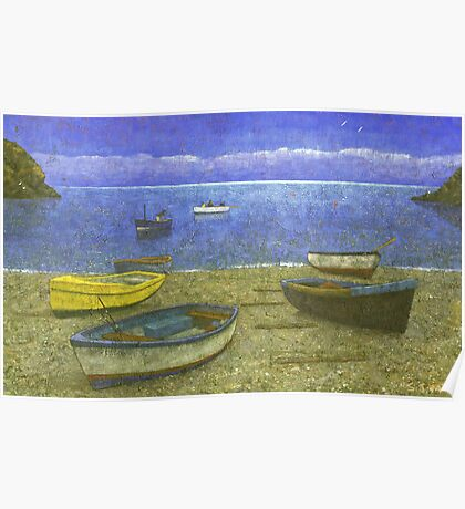 Cadgwith Cove Poster
