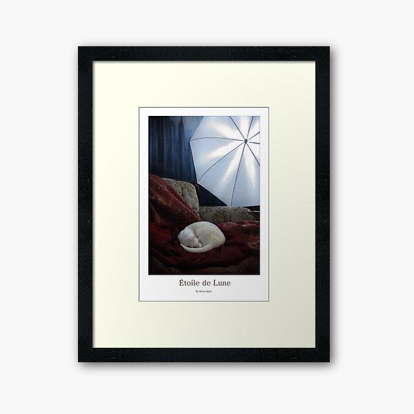 Etoile de Lune  Framed Art Print