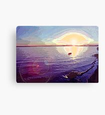 Puget Sound Sunset 2 Canvas Print
