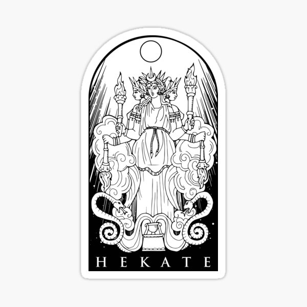 HEKATE Sticker