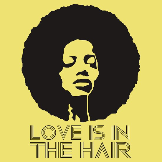 TShirtGifter presents: Love is in the hair