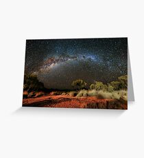 Spinifex and Stars Greeting Card