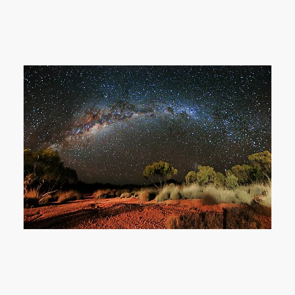 Spinifex and Stars Photographic Print