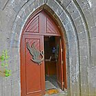 Entrance to St Columba's, Drumcliff by Graeme  Hyde