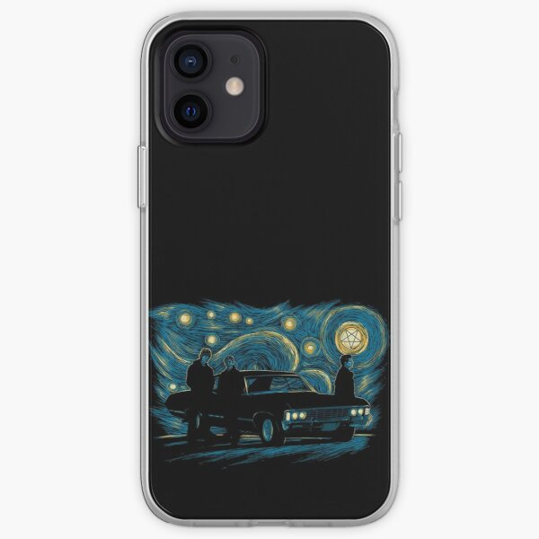 Starry Supernatural Night iPhone Soft Case