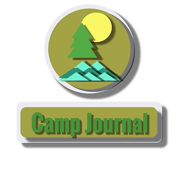 Camp Journal by parakeetart