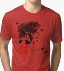 Bjork all is full of love Tri-blend T-Shirt