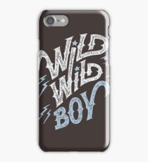 Wild Wild Boy iPhone Case/Skin