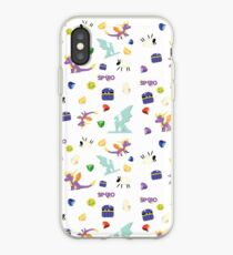 Spyro Trilogy Pattern iPhone Case