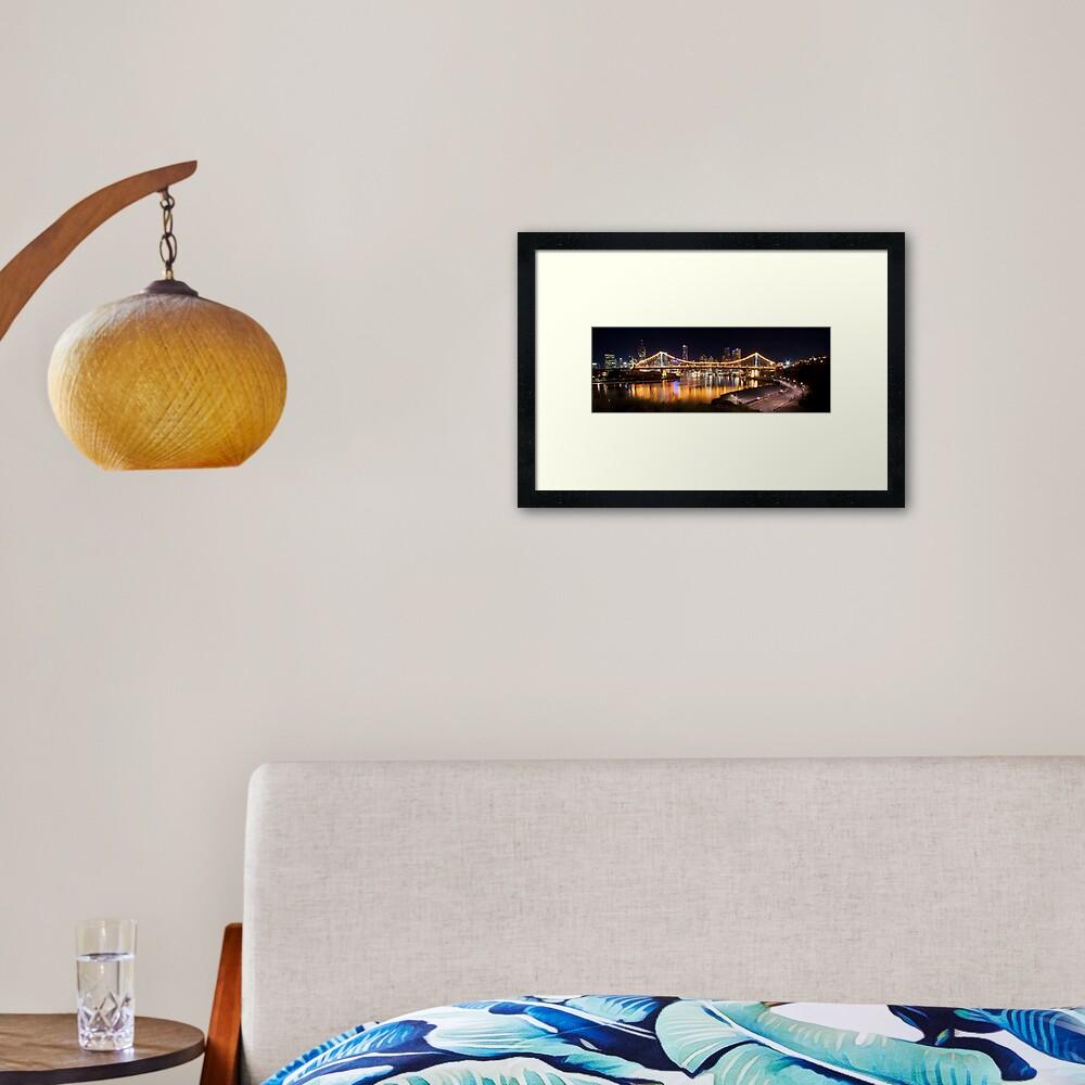 Story Bridge Framed Art Print