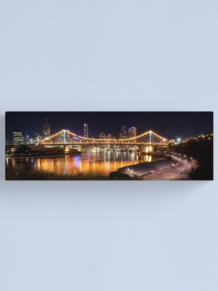 Alternate view of Story Bridge Canvas Print