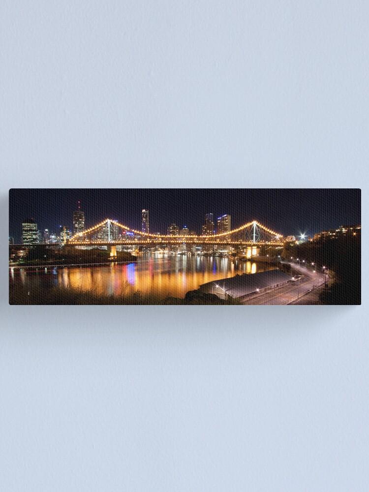 Alternate view of Story Bridge Canvas Print