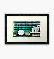 The Dish Framed Print