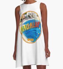 Magaluf, Magaluf poster, tshirt, Spain, beach, photo A-Line Dress