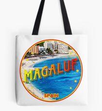Magaluf, Magaluf poster, tshirt, Spain, beach, photo Tote Bag