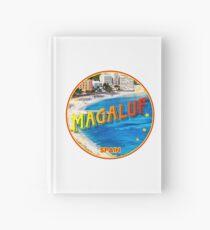 Magaluf, Magaluf poster, tshirt, Spain, beach, photo Hardcover Journal