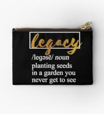 What is a Legacy? I Hamilton Studio Pouch