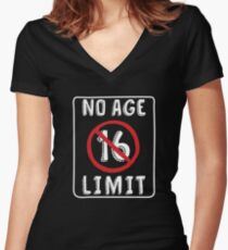 No Age Limit 16th Birthday Gifts Funny B Day For 16 Year Old Womens Fitted