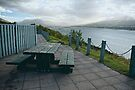 Table With A View Or Lets Have Lunch... by Lucinda Walter