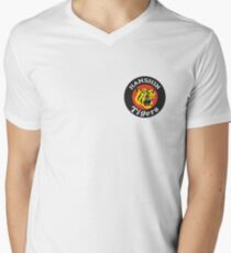 Hanshin Tigers Vintage Baseball Logo  Men's V-Neck T-Shirt