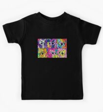 Friends in a Stained Glass Window Kids Tee