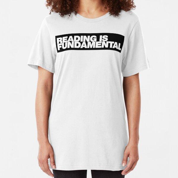 Reading is FUNDAMENTAL Slim Fit T-Shirt