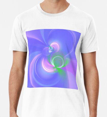 Abstract fractal colors Premium T-Shirt
