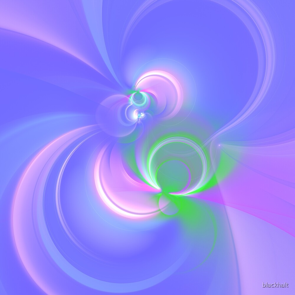 Abstract fractal colors by blackhalt