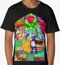 Patterns of the Stained Glass Window Long T-Shirt