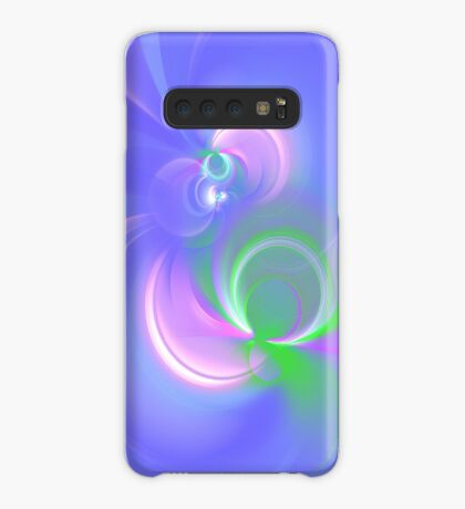 Abstract fractal colors Case/Skin for Samsung Galaxy