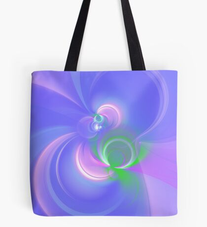 Abstract fractal colors Tote Bag
