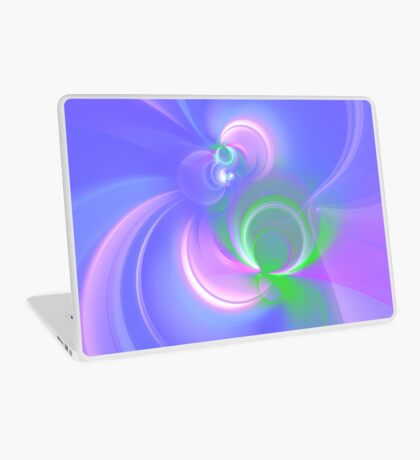 Abstract fractal colors Laptop Skin