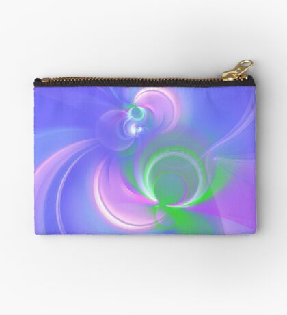 Abstract fractal colors Zipper Pouch
