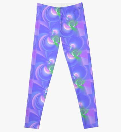 Abstract fractal colors Leggings