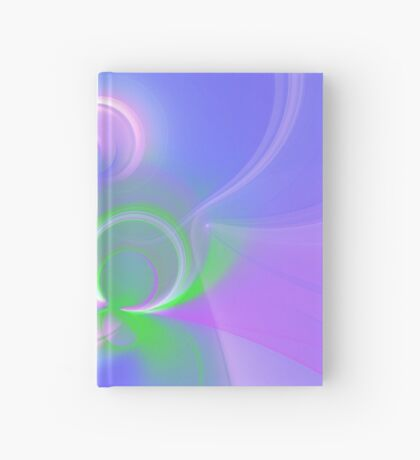 Abstract fractal colors Hardcover Journal