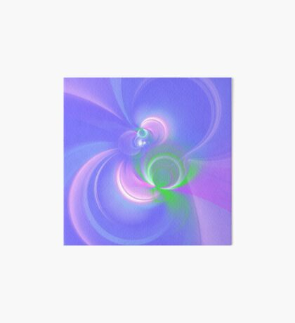 Abstract fractal colors Art Board Print
