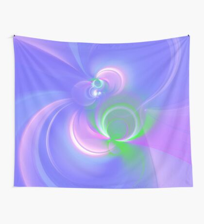 Abstract fractal colors Wall Tapestry