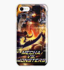 Mecha VS Monster iPhone Case/Skin